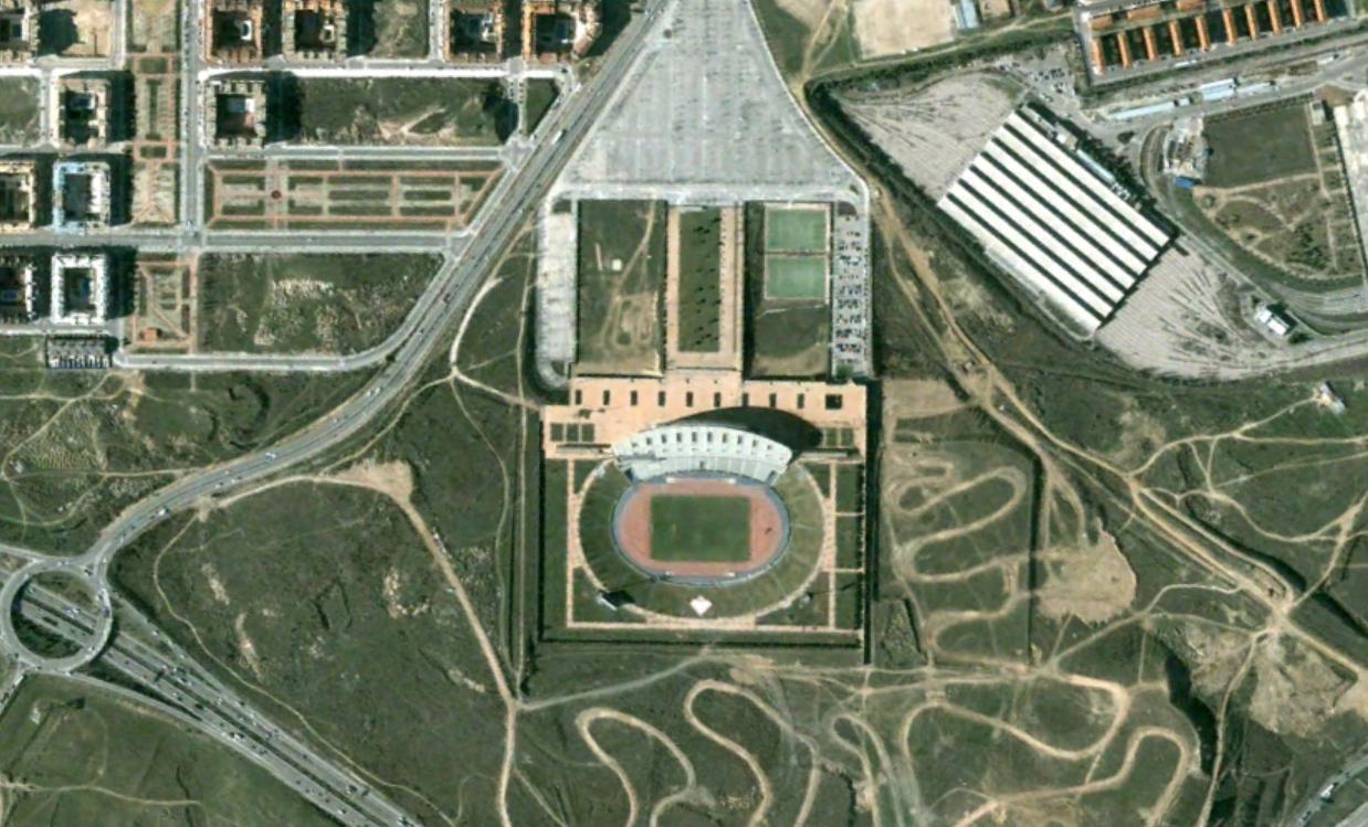 estadio wanda metropolitano, atlético de madrid, madrid, antes esto era una peineta, antes, urbanismo, planeamiento, urbano, desastre, urbanístico, construcción