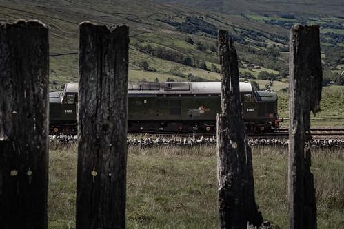 37117 37521 d6817 dent dentdale staycation 1z43 railway settle carlise