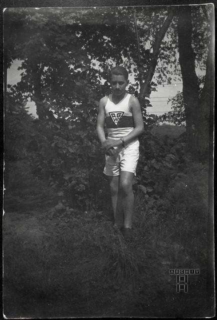 ArchivTappen23AAl2g5 Olympiakandidat Grätner, Weimar, 1931