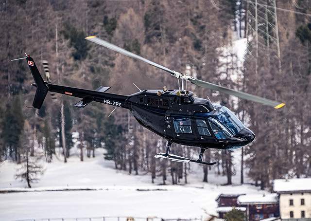 SMV/LSZS: SwissHeli / Agusta-Bell AB 206 B Jet Ranger 2 / HB-ZPZ