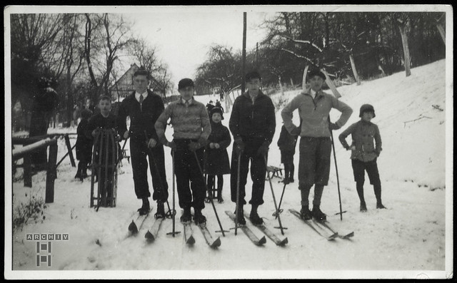 ArchivTappen23AAl2g Wintersport, Ettersberg, Weimar, 1931