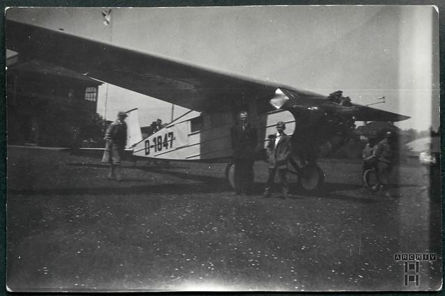 ArchivTappen23BAl2g Flugplatz Weimar, 1931