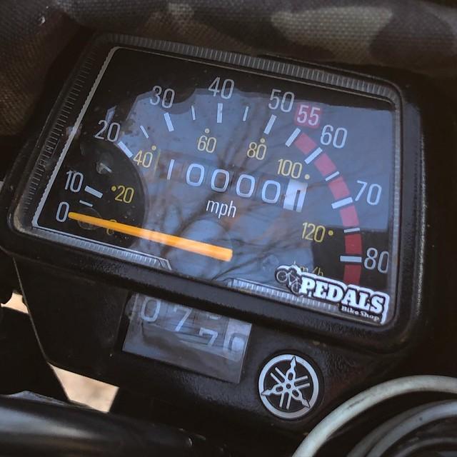 TW200 HITS 10,000 MILES! GCRAD1