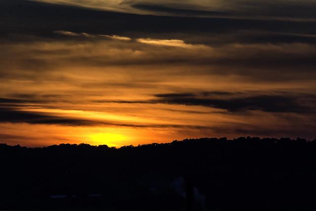 Sunset over Lake Leelanau