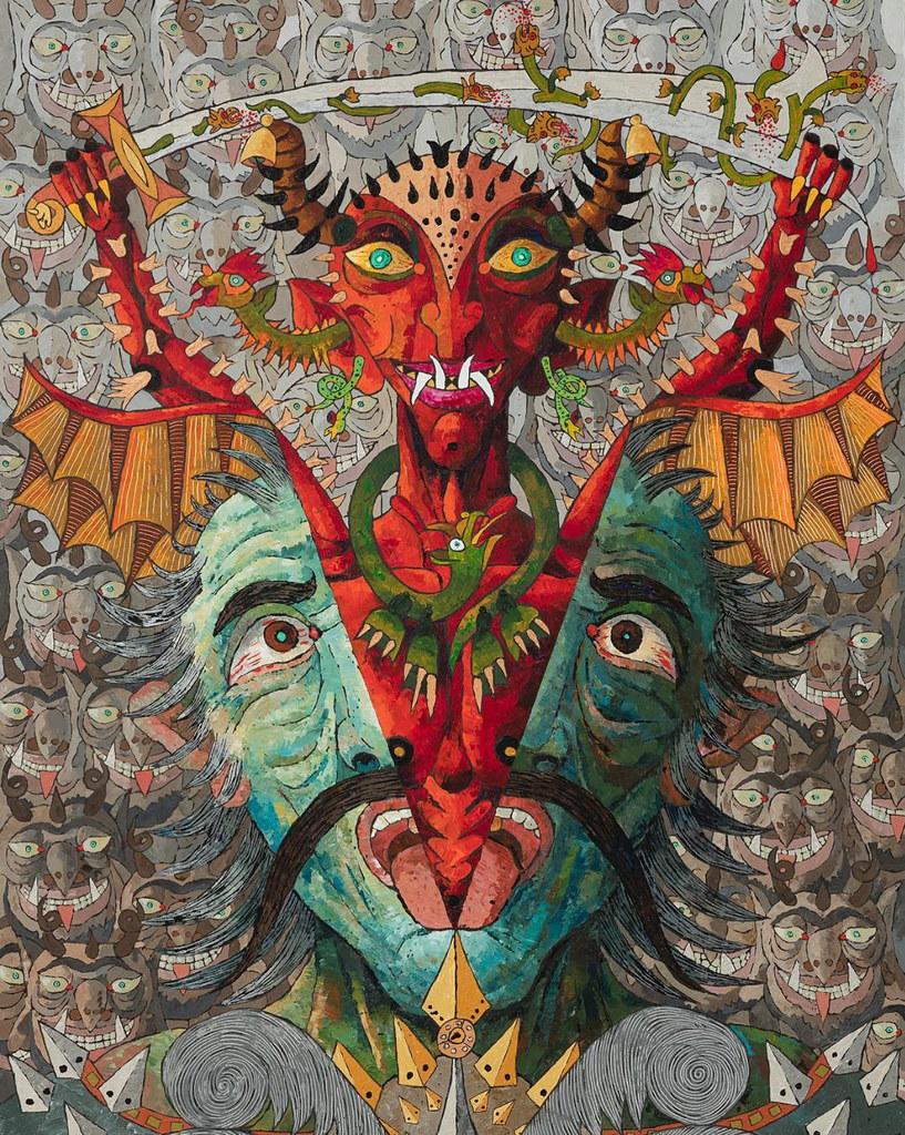 Demon 01, Satan & Soul series, 2017