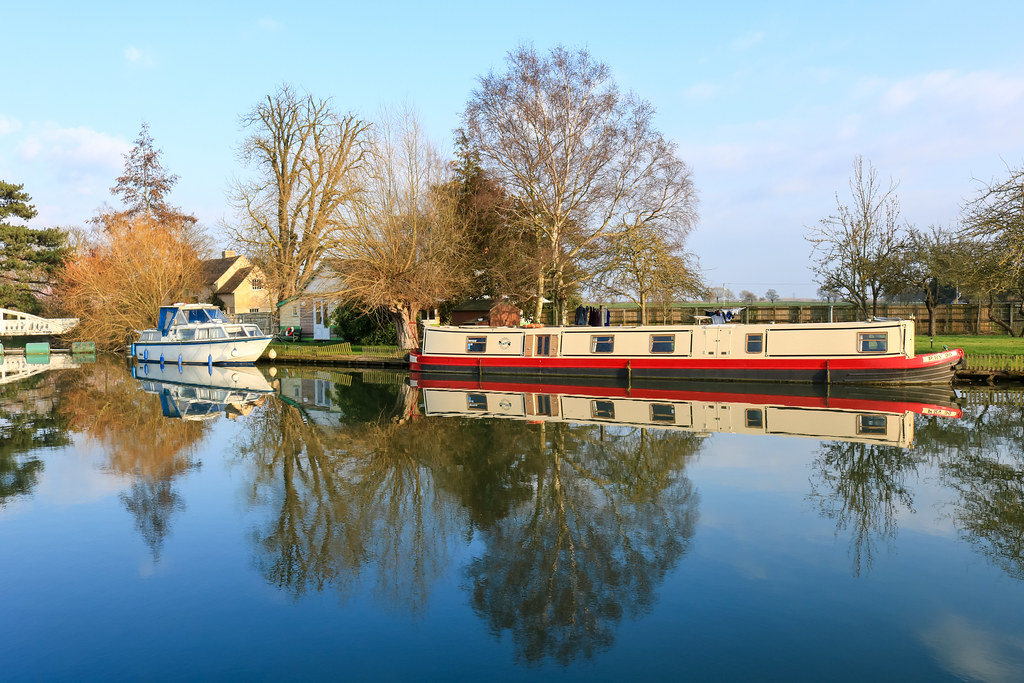 River Cam Reflections