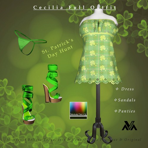 Ava Design - FabFree St. Patty's Day Hunt