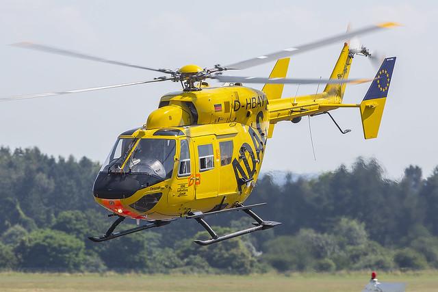 D-HBAY, MBB BK-117 ADAC Luftrettung @ Bonn-Hangelar EDKB