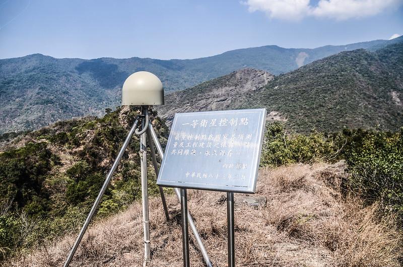 德德山北峰(多納)中央研究院一等衛星控制點(#S024 Elev. 491 m) (1)