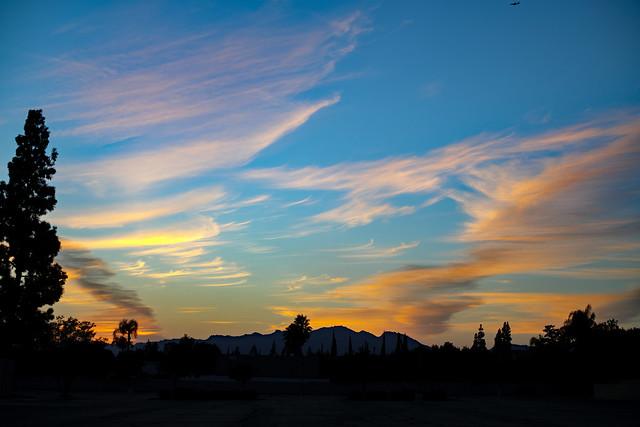 Evening Sky in Calif.