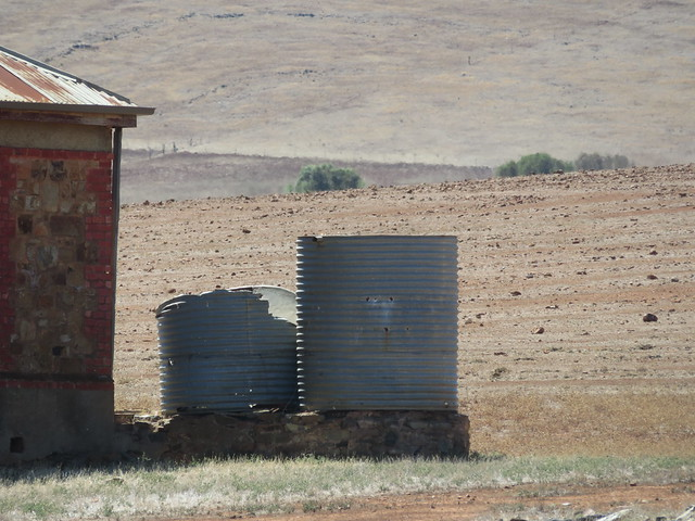 'Diesel & Dust homestead' on Goyder Hwy in Burra - 11/03/2021
