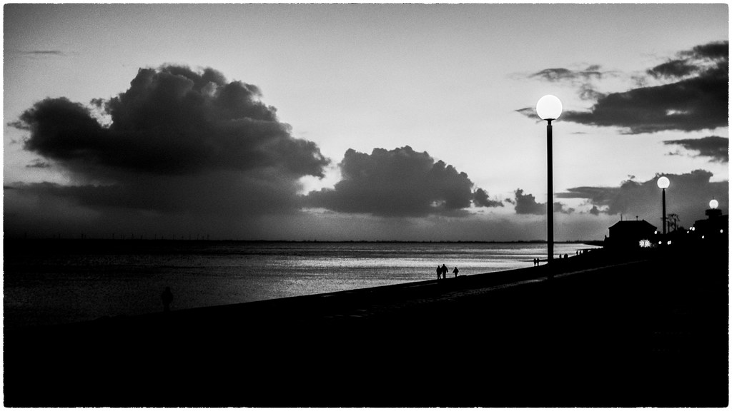 late evening walk