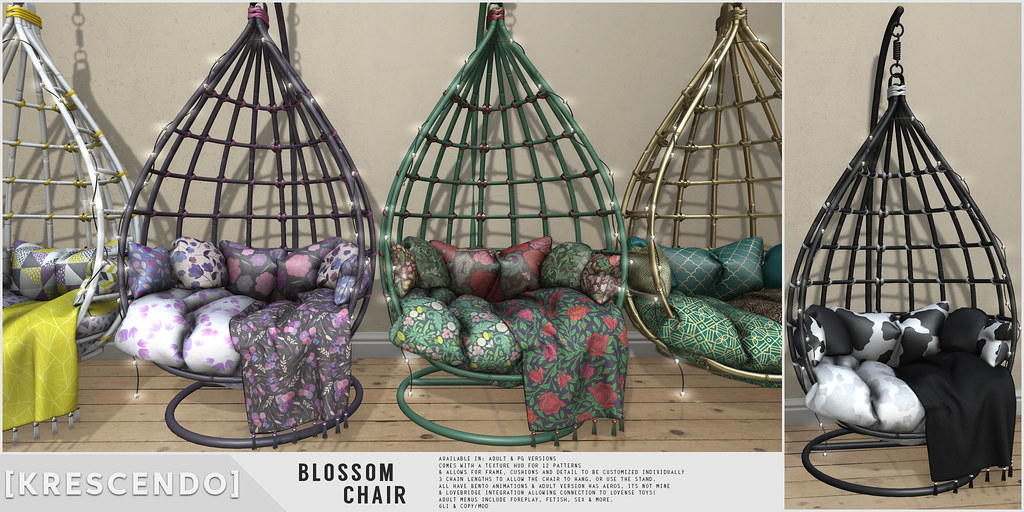 [Kres] Blossom Chair