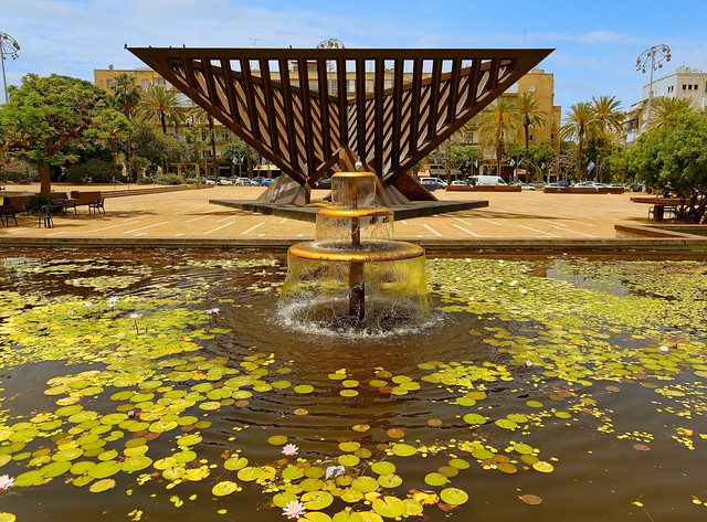 Tel Aviv / Rabin Square / Holocaust monument