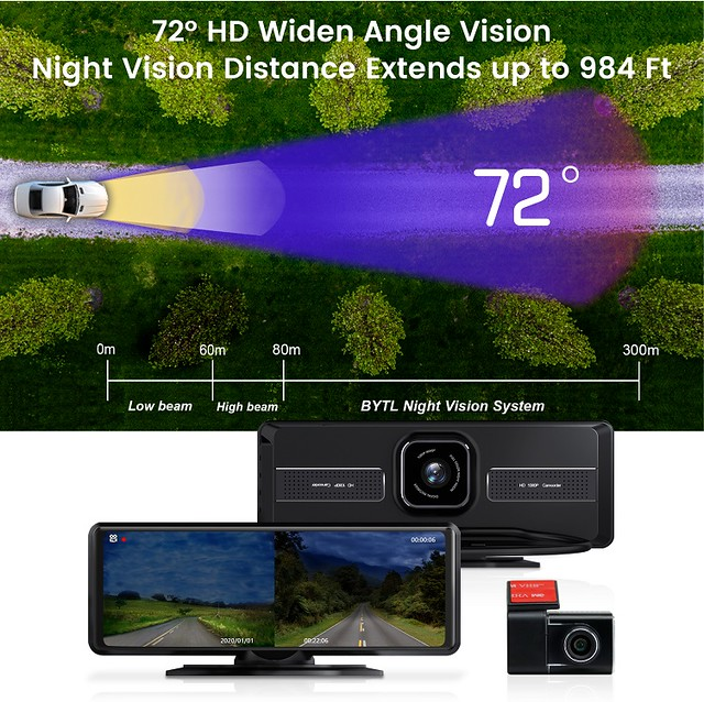 5953 Superfine Night Vision System with Dashcam 01