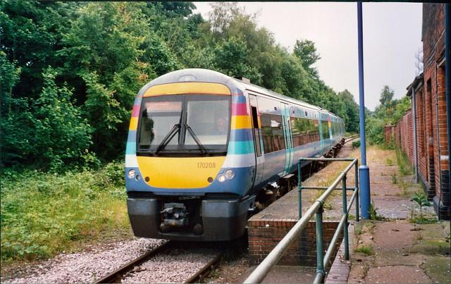 National Express East Anglia Class 170 170208