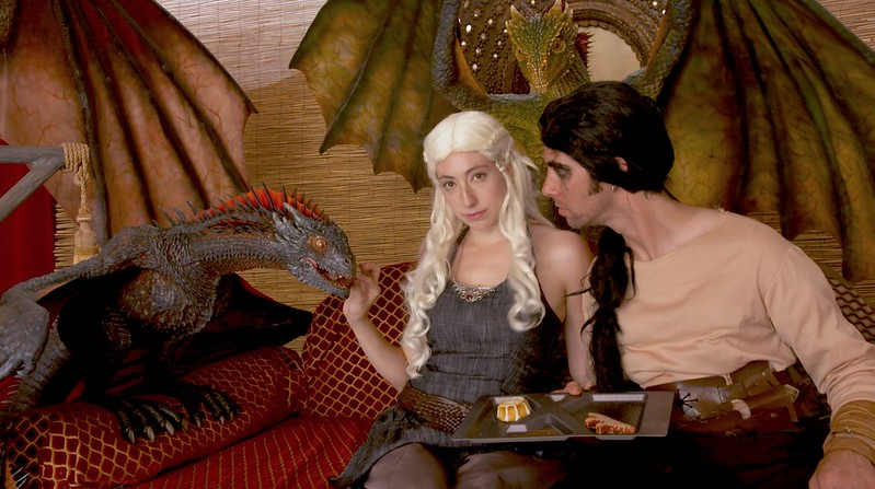 Preview+Events+-+xfinity+-+comicon+-+Khaleesi+tent