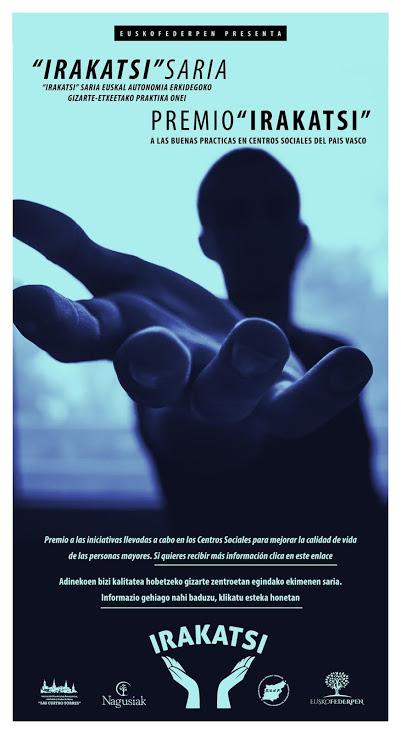 "Premio ""IRAKATSI"" de buenas prácticas en Centros Sociales de Euskadi"