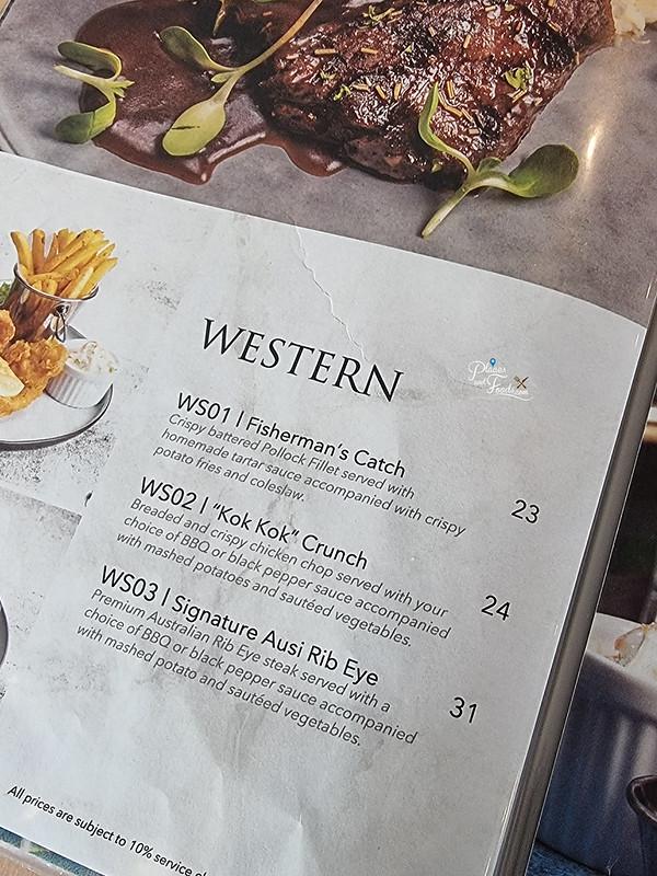 delicieux cafe western menu