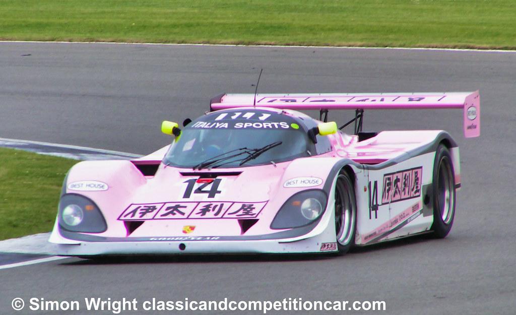 Porsche 962 Henry Pearman 6th