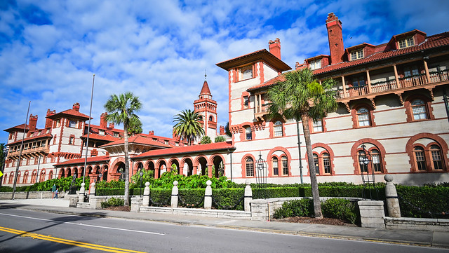 Flager College (former Ponce De Leon Hotel) in Old Town St Augustine FL
