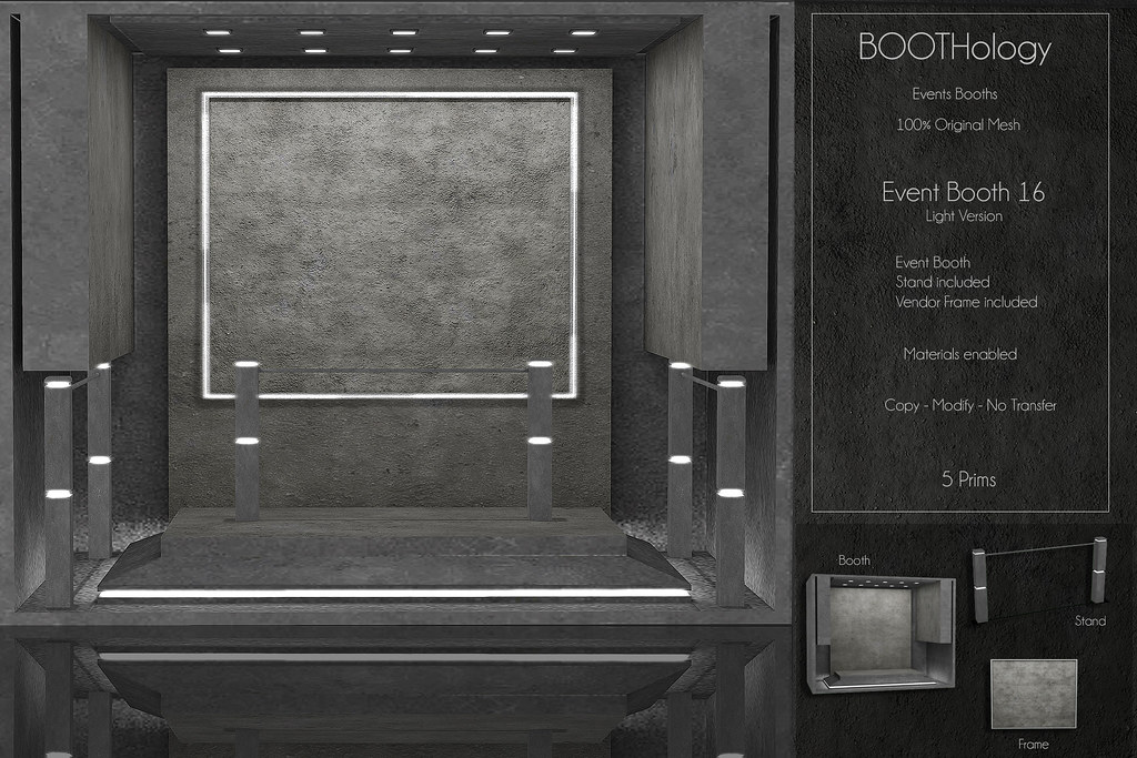 Bothology - Event Booth 16  Light version AD