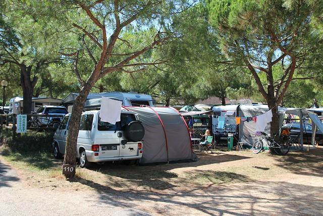 Pitches at Camping Le Palme
