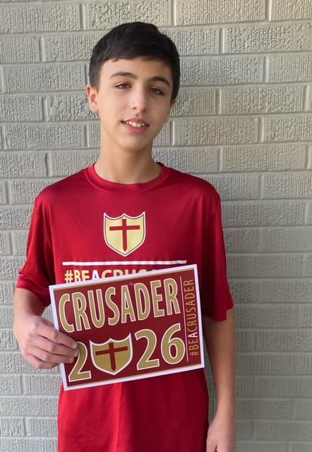 Hudson Hughes 2026 - St. Christopher