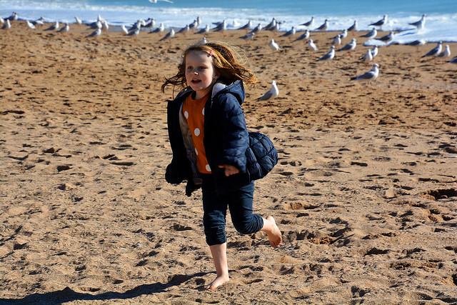 Courir sur la plage _6192