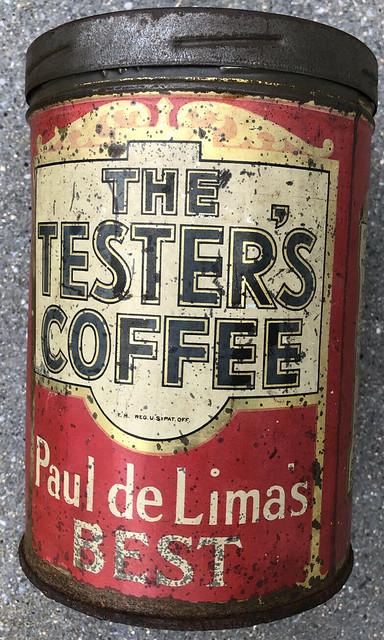 The Tester's Coffee Tin