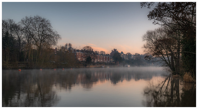 Dawn on the River Dee, Chester