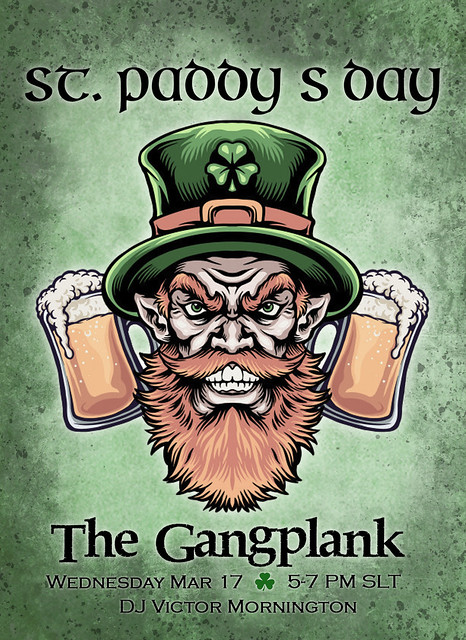 St. Paddy's Day at the Plank