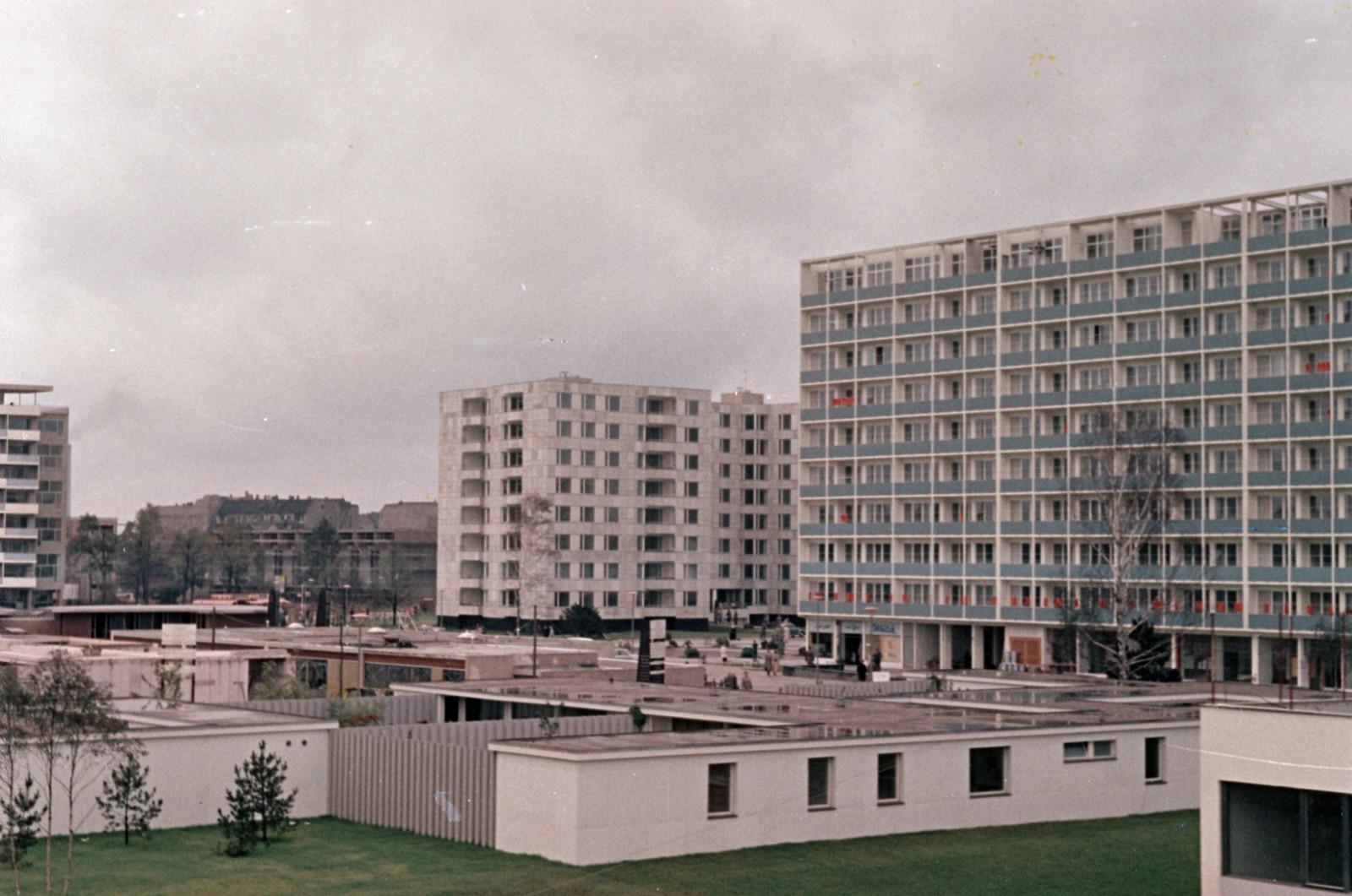 10. Западный Берлин. Доходные дома недалеко от Хансаплаца