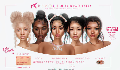 REVOUL at Skin Fair 2021 + GIVEAWAY & Group Gift! 😍