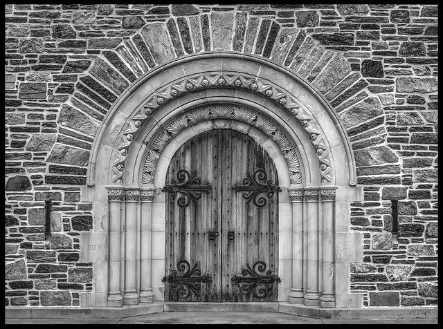 Lucina Chapel Door