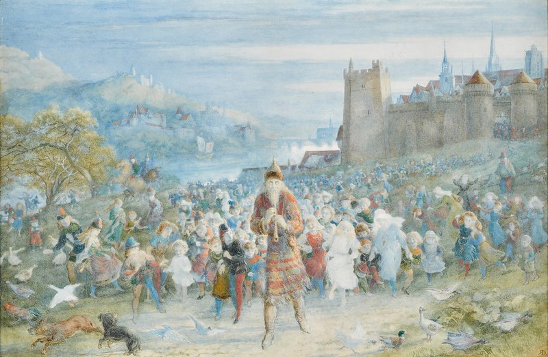 Richard Doyle - The Pied Piper of Hamelin, 1879