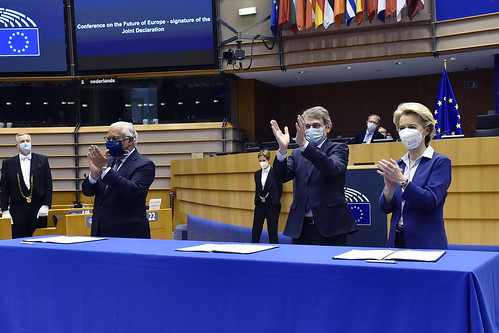 Building tomorrow's Europe: EU paves way for Conference on the Future of Europe