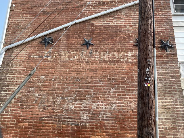 Ghost Sign on North Kent St.