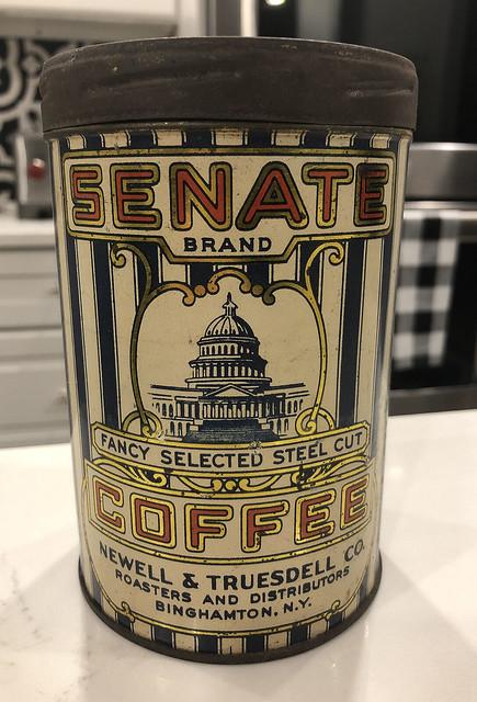 Senate Coffee Tin
