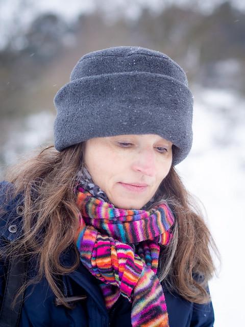 Mariëlle, Amsterdamse Waterleidingduinen 2021: Freezing thoughts