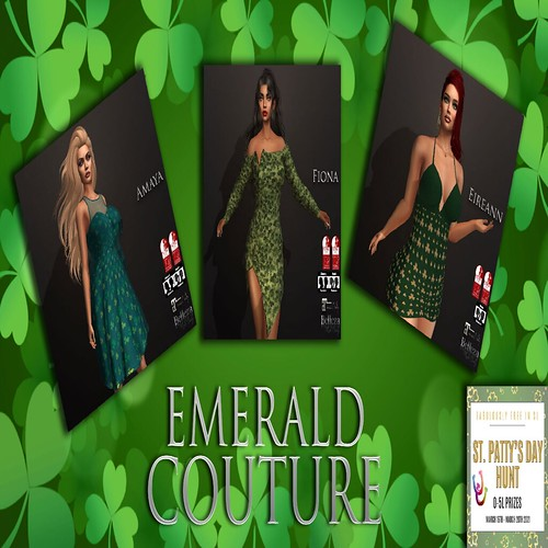 Emerald Couture - FabFree St. Patty's Day Hunt Key