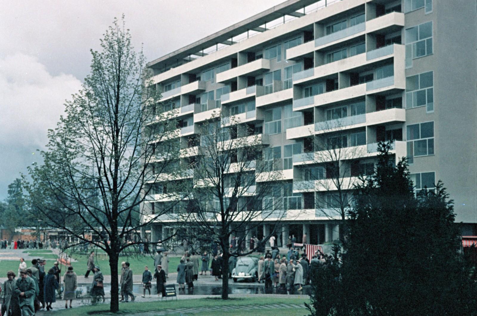 11. Западный Берлин. Клопштокштрассе, Пьер-Ваго-Хаус