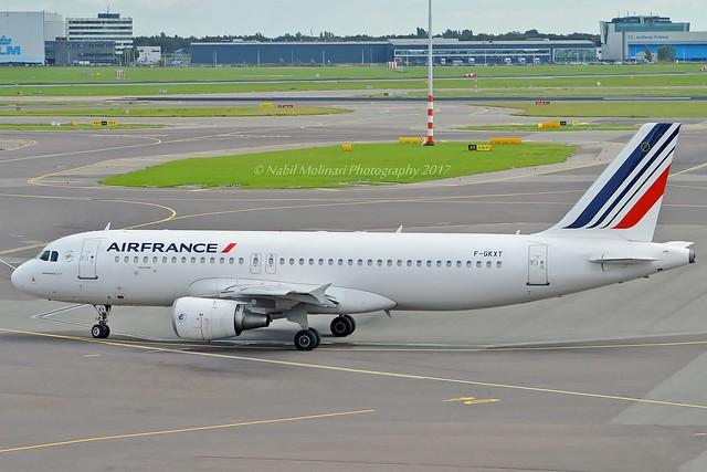 Air France F-GKXT Airbus A320-214 cn/3859 @ EHAM / AMS 12-09-2017