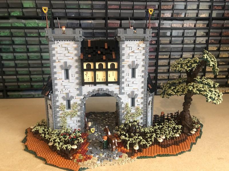 """ Let him pass "", The city Gates to Morwen"