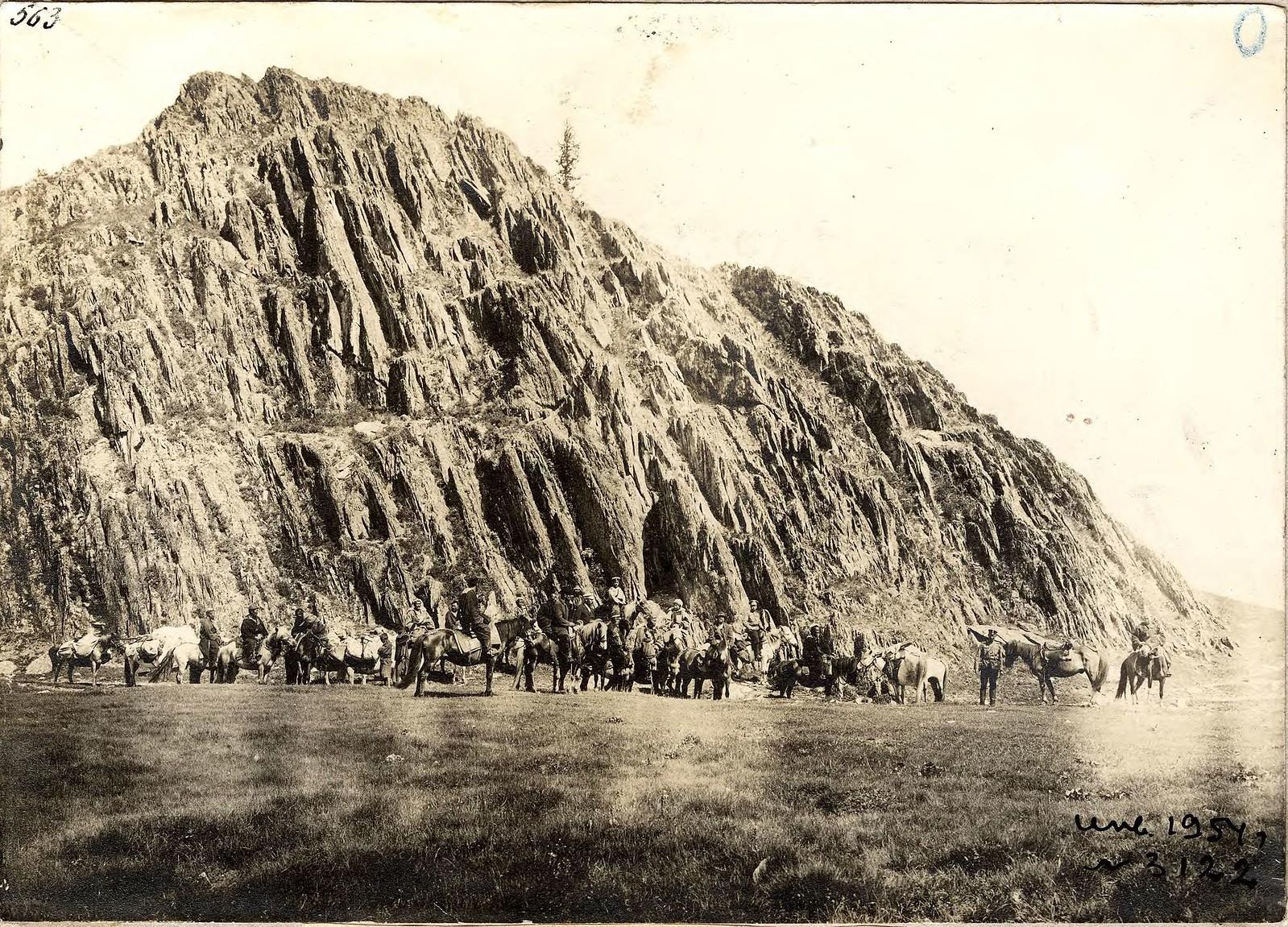 06. Экспедиционный караван в долине реки Аккем