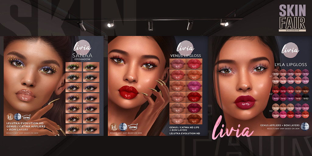 LIVIA // Skin Fair 2021 Exclusives