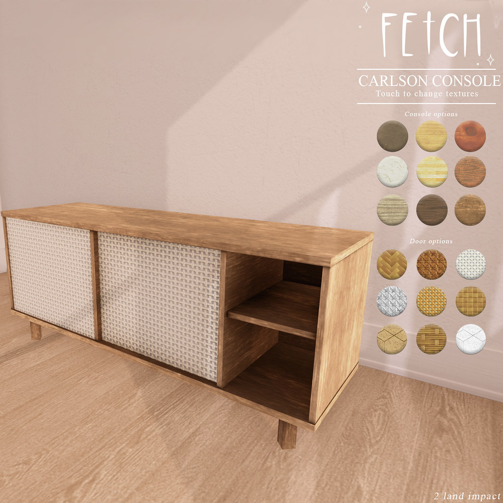 [Fetch] Carlson Console Table @ Fifty Linden Friday!