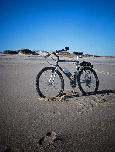 Bike on a Beach (1)