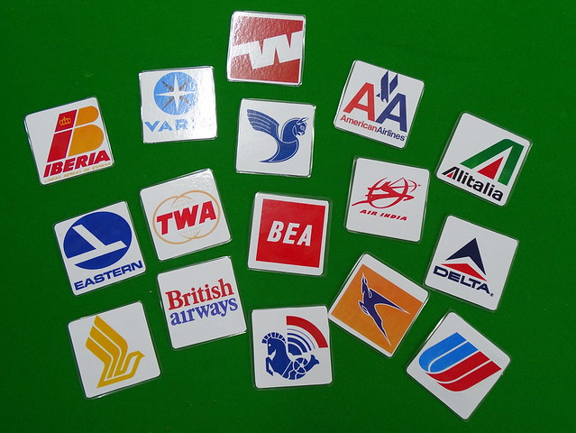 Airline Beermats / Coasters