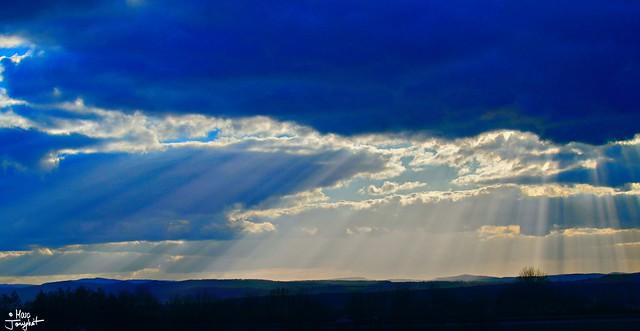 moist, heavenly bundles || himmlisch feuchte Strahlenbündel